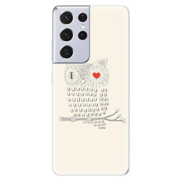 Odolné silikonové pouzdro iSaprio - I Love You 01 - Samsung Galaxy S21 Ultra