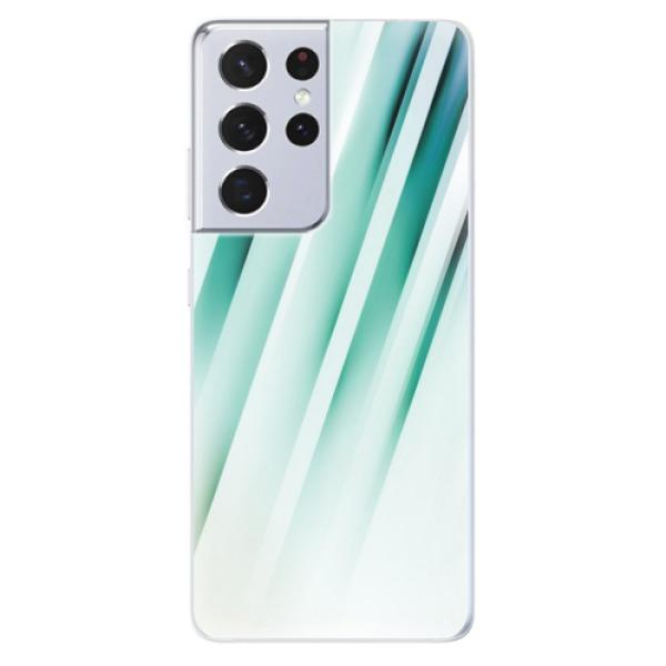 Odolné silikonové pouzdro iSaprio - Stripes of Glass - Samsung Galaxy S21 Ultra