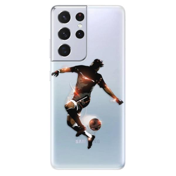 Odolné silikonové pouzdro iSaprio - Fotball 01 - Samsung Galaxy S21 Ultra