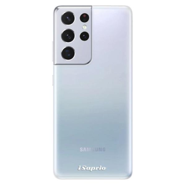 Odolné silikonové pouzdro iSaprio - 4Pure - mléčný bez potisku - Samsung Galaxy S21 Ultra