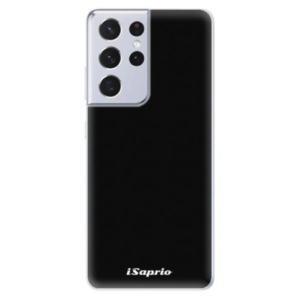 Odolné silikonové pouzdro iSaprio - 4Pure - černý - Samsung Galaxy S21 Ultra