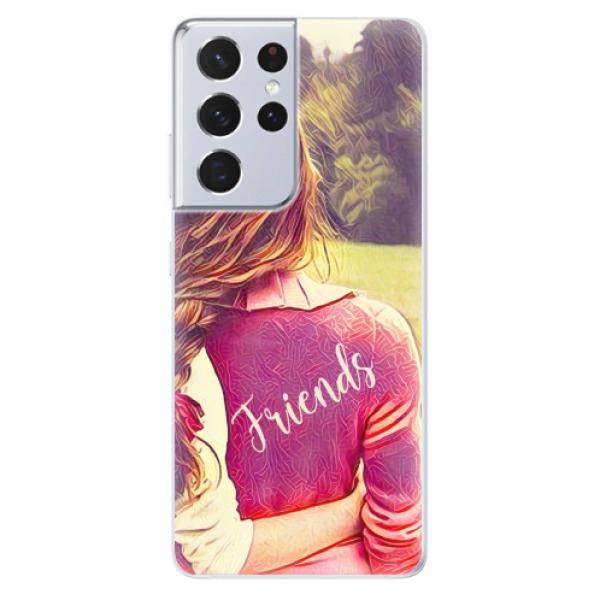 Odolné silikonové pouzdro iSaprio - BF Friends - Samsung Galaxy S21 Ultra
