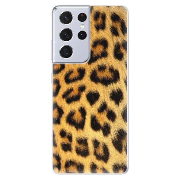 Odolné silikonové pouzdro iSaprio - Jaguar Skin - Samsung Galaxy S21 Ultra