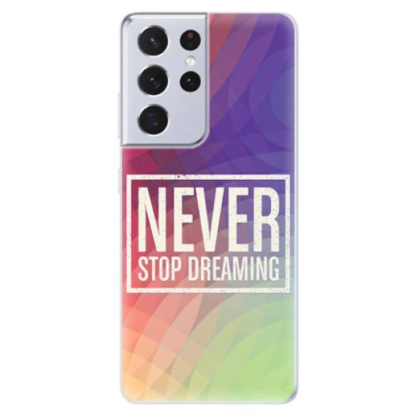 Odolné silikonové pouzdro iSaprio - Dreaming - Samsung Galaxy S21 Ultra