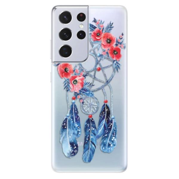 Odolné silikonové pouzdro iSaprio - Dreamcatcher 02 - Samsung Galaxy S21 Ultra