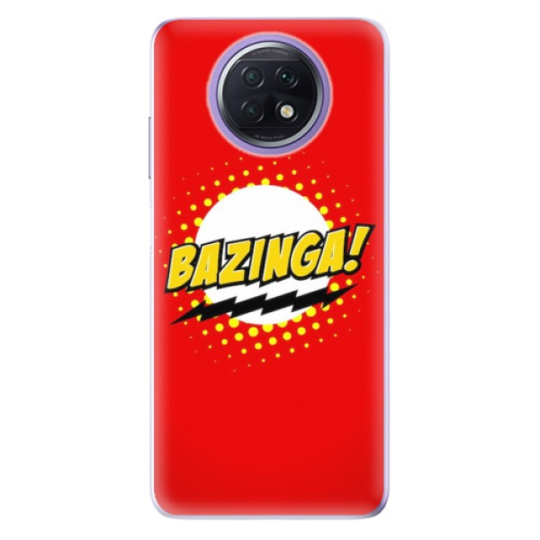 Odolné silikonové pouzdro iSaprio - Bazinga 01 - Xiaomi Redmi Note 9T