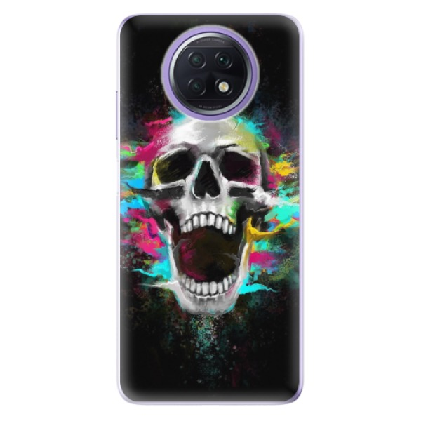 Odolné silikonové pouzdro iSaprio - Skull in Colors - Xiaomi Redmi Note 9T