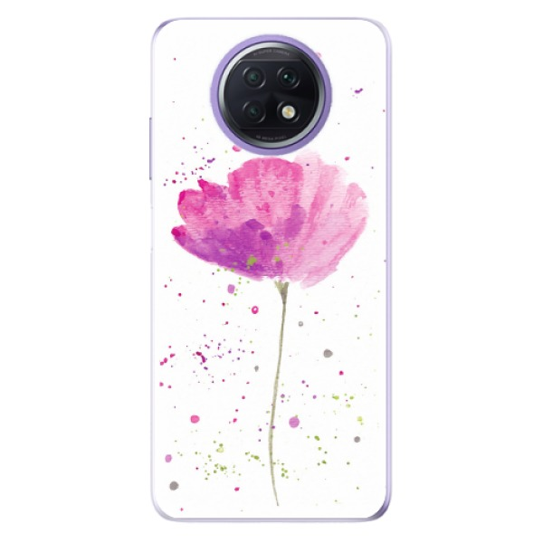 Odolné silikonové pouzdro iSaprio - Poppies - Xiaomi Redmi Note 9T