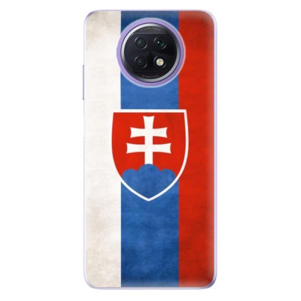 Odolné silikonové pouzdro iSaprio - Slovakia Flag - Xiaomi Redmi Note 9T