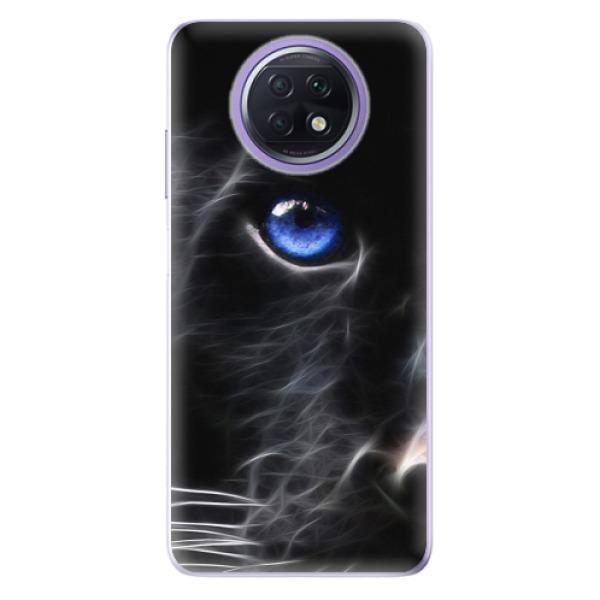 Odolné silikonové pouzdro iSaprio - Black Puma - Xiaomi Redmi Note 9T
