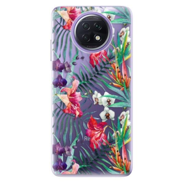 Odolné silikonové pouzdro iSaprio - Flower Pattern 03 - Xiaomi Redmi Note 9T
