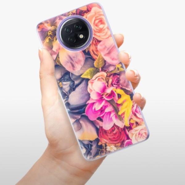 Odolné silikonové pouzdro iSaprio - Beauty Flowers - Xiaomi Redmi Note 9T