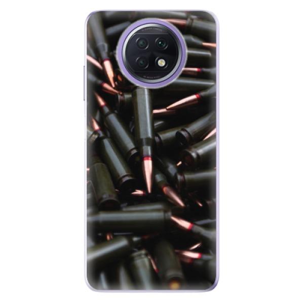 Odolné silikonové pouzdro iSaprio - Black Bullet - Xiaomi Redmi Note 9T