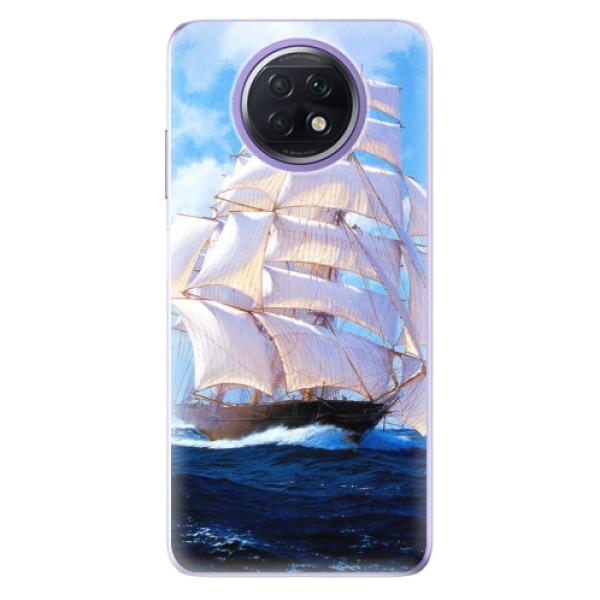 Odolné silikonové pouzdro iSaprio - Sailing Boat - Xiaomi Redmi Note 9T
