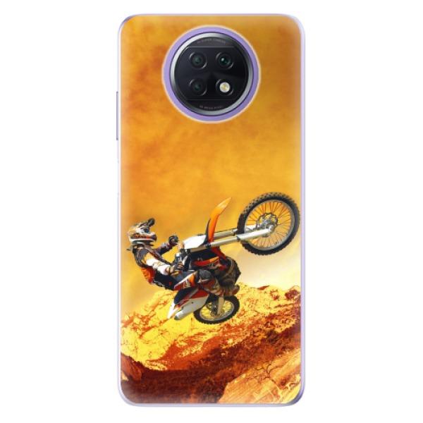 Odolné silikonové pouzdro iSaprio - Motocross - Xiaomi Redmi Note 9T