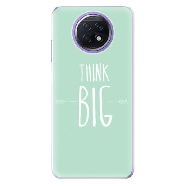 Odolné silikonové pouzdro iSaprio - Think Big - Xiaomi Redmi Note 9T