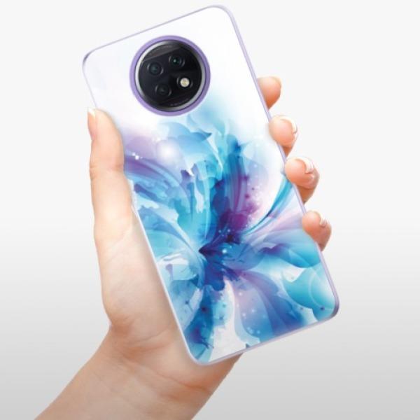 Odolné silikonové pouzdro iSaprio - Abstract Flower - Xiaomi Redmi Note 9T