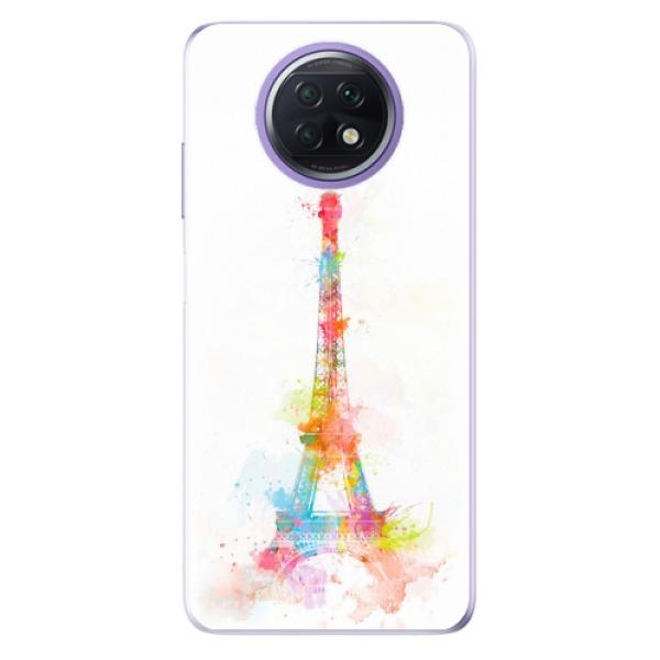 Odolné silikonové pouzdro iSaprio - Eiffel Tower - Xiaomi Redmi Note 9T
