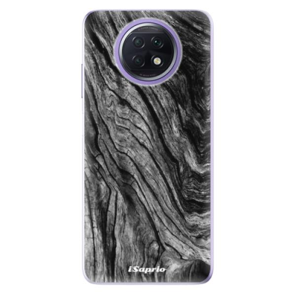 Odolné silikonové pouzdro iSaprio - Burned Wood - Xiaomi Redmi Note 9T