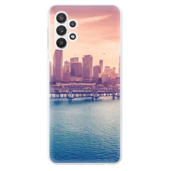 Odolné silikonové pouzdro iSaprio - Morning in a City - Samsung Galaxy A32