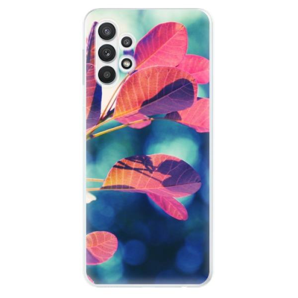 Odolné silikonové pouzdro iSaprio - Autumn 01 - Samsung Galaxy A32