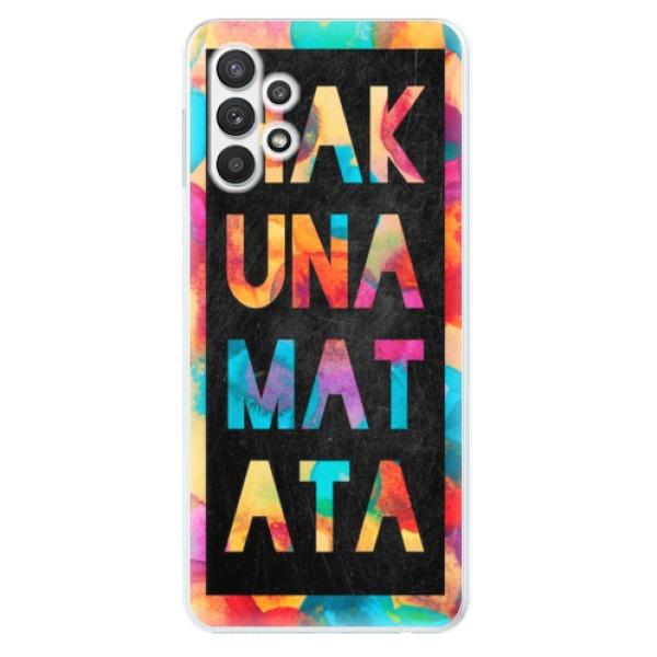 Odolné silikonové pouzdro iSaprio - Hakuna Matata 01 - Samsung Galaxy A32