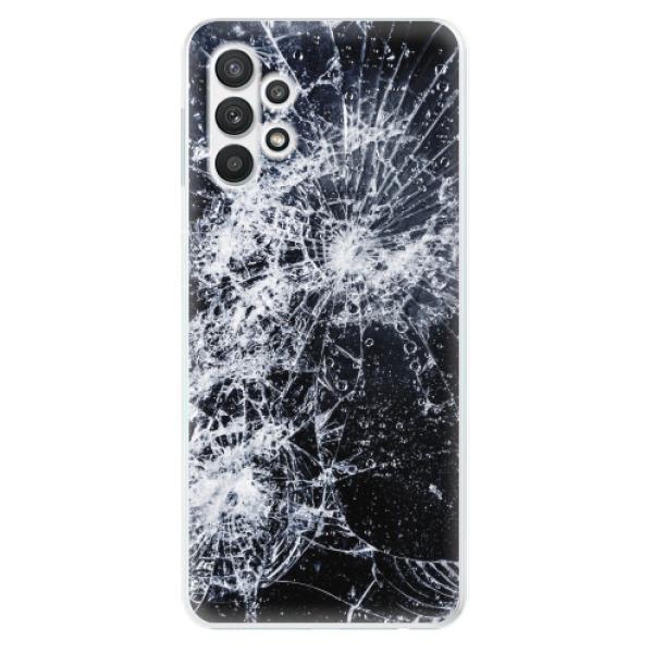 Odolné silikonové pouzdro iSaprio - Cracked - Samsung Galaxy A32