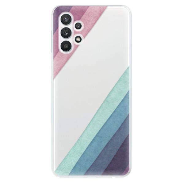 Odolné silikonové pouzdro iSaprio - Glitter Stripes 01 - Samsung Galaxy A32