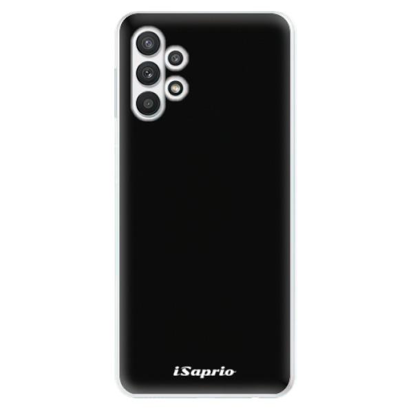 Odolné silikonové pouzdro iSaprio - 4Pure - černý - Samsung Galaxy A32