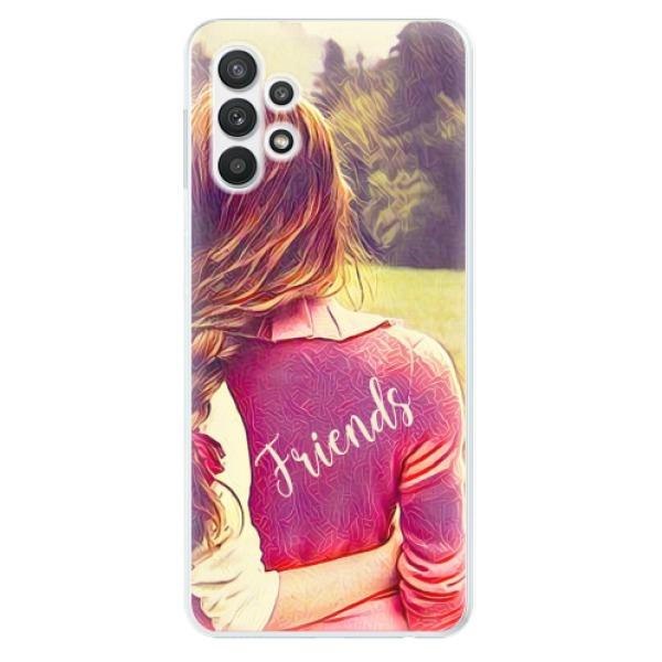 Odolné silikonové pouzdro iSaprio - BF Friends - Samsung Galaxy A32