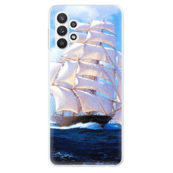 Odolné silikonové pouzdro iSaprio - Sailing Boat - Samsung Galaxy A32