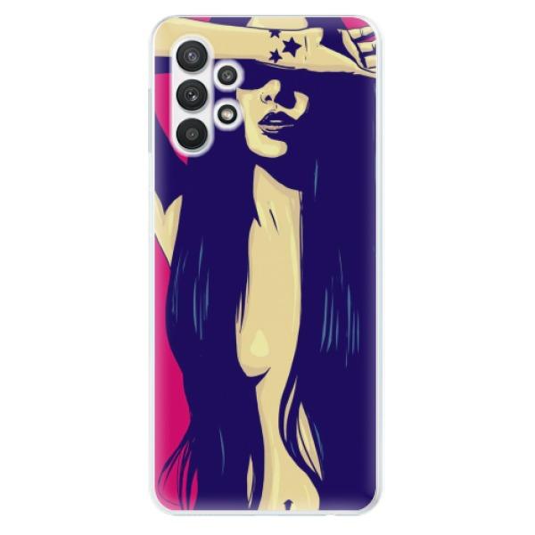 Odolné silikonové pouzdro iSaprio - Cartoon Girl - Samsung Galaxy A32