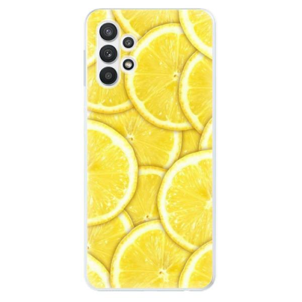 Odolné silikonové pouzdro iSaprio - Yellow - Samsung Galaxy A32