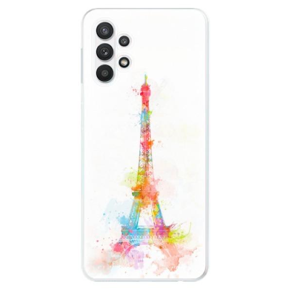 Odolné silikonové pouzdro iSaprio - Eiffel Tower - Samsung Galaxy A32