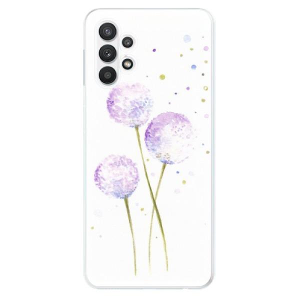 Odolné silikonové pouzdro iSaprio - Dandelion - Samsung Galaxy A32