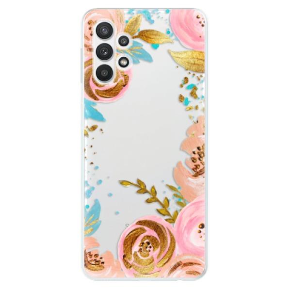 Odolné silikonové pouzdro iSaprio - Golden Youth - Samsung Galaxy A32