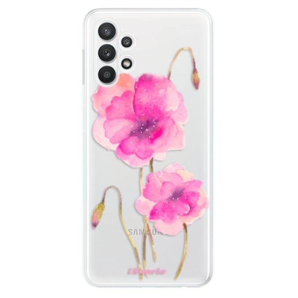 Odolné silikonové pouzdro iSaprio - Poppies 02 - Samsung Galaxy A32