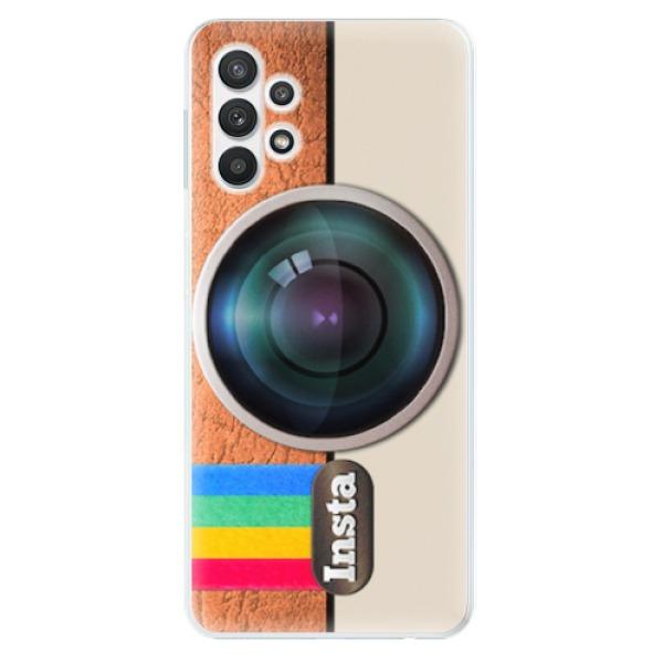 Odolné silikonové pouzdro iSaprio - Insta - Samsung Galaxy A32