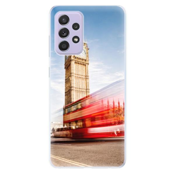Odolné silikonové pouzdro iSaprio - London 01 - Samsung Galaxy A52/A52 5G