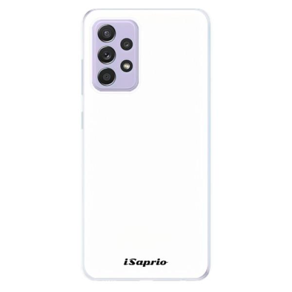 Odolné silikonové pouzdro iSaprio - 4Pure - bílý - Samsung Galaxy A52/A52 5G