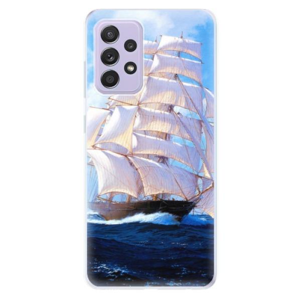 Odolné silikonové pouzdro iSaprio - Sailing Boat - Samsung Galaxy A52/A52 5G