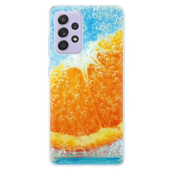 Odolné silikonové pouzdro iSaprio - Orange Water - Samsung Galaxy A52/A52 5G