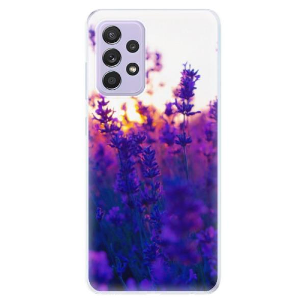 Odolné silikonové pouzdro iSaprio - Lavender Field - Samsung Galaxy A52/A52 5G