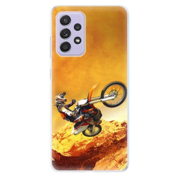 Odolné silikonové pouzdro iSaprio - Motocross - Samsung Galaxy A52/A52 5G