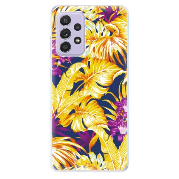 Odolné silikonové pouzdro iSaprio - Tropical Orange 04 - Samsung Galaxy A52/A52 5G