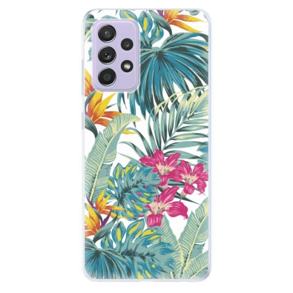 Odolné silikonové pouzdro iSaprio - Tropical White 03 - Samsung Galaxy A52/A52 5G