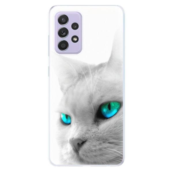 Odolné silikonové pouzdro iSaprio - Cats Eyes - Samsung Galaxy A52/A52 5G