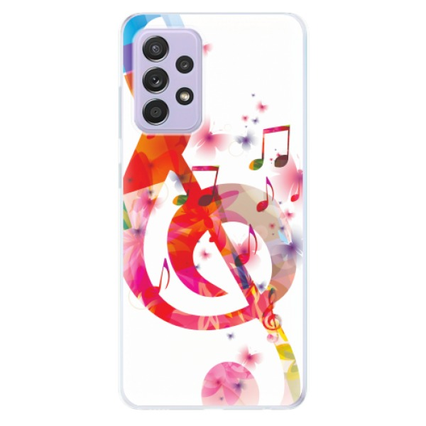 Odolné silikonové pouzdro iSaprio - Love Music - Samsung Galaxy A52/A52 5G