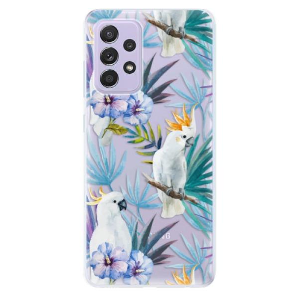 Odolné silikonové pouzdro iSaprio - Parrot Pattern 01 - Samsung Galaxy A52/A52 5G
