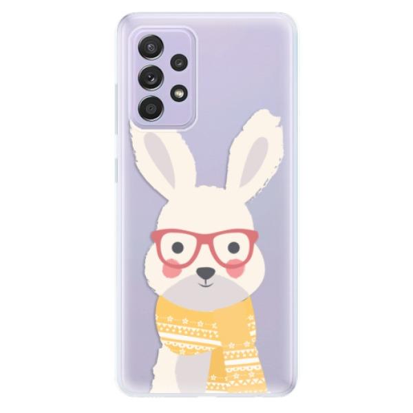 Odolné silikonové pouzdro iSaprio - Smart Rabbit - Samsung Galaxy A52/A52 5G
